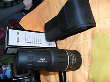 NICE QUALITY 16X52 COMPACT MONOCULAR,CASE,FOR SPORTS,FISHING,CAMPING ETC.NEW