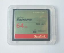 64GB SANDISK EXTREME CF COMPACT FLASH Memory Card HD VIDEO 120MB/s* UDMA 7 800X