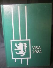 1981 Visa J. H Rose High School Yearbook, Greenville, North Carolina