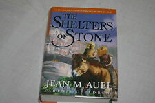 The Shelters of Stone Bk. 5 by Jean M. Auel (2002, Hardcover) 1st Ed.