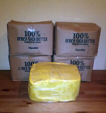 5 Lbs Raw Organic SHEA BUTTER Unrefined Pure Yellow Gold Ghana Grade A 5 Pounds