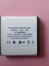 BATTERIA NOKIA-6233-6234-BP-6M-COMPATIBILE  made in Italy    QUALITY TOP