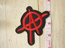 PUNK ANARCHY HARDCORE Rock embroidered Iron on Patch High Quality Shirt
