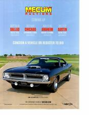 1970 PLYMOUTH CUDA 440 SIX-PACK ~ NICE AUCTION AD
