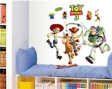 Toy Story 3 Wall Stickers Colorful Removable Art Decals Kids Nursery Home Decors