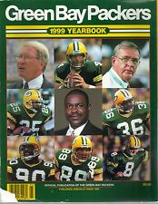 1999 Green Bay Packers Yearbook Favre Wolff Rhodes Bulter Longwell Chmura Cover