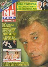 CINE REVUE (belge) 1995 N°12 johnny hallyday pierre arditi