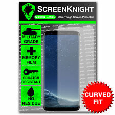 ScreenKnight Samsung Galaxy S8 FRONT SCREEN PROTECTOR - CURVED FIT