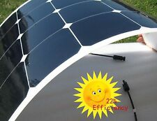 50W Semi Flexible Sunpower solar Panel 12V For Battery Charging RV Boat Caravan