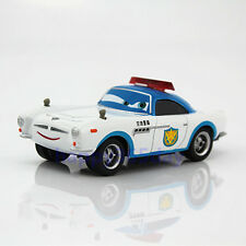 Rare Disney Pixar Security Finn Mc Missile Sheriff Diecast Metal 1:55 Toy Car