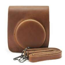 Leather Brown Camera Case Bag Holder For FUJIFILM Instax Mini90 New Arrival Case