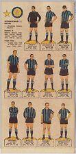 CALCIO - Squadra INTER : Stagione 1966 - CARTONCINO D'EPOCA con giocatori !!