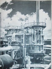 PHOTO CRACKING DE GAZ NATUREL OFFICE NATIONAL INDUSTRIEL AZOTE FORMAT 31 x 24 cm