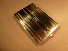 STERLING SILVER 18KT 18 KT COSMETIC CIGARETTE & CHANGE CASE PURSE DOWNTON ABBEY
