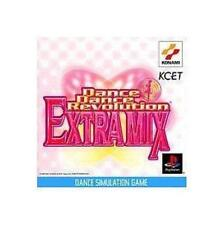 USED PS1 Dance Dance Revolution Extra Mix Japan Import