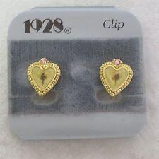 1 pair of 1928 CLIPON earrings