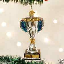 *Trophy* Sports Winner Champion [36147] Old World Christmas Glass Ornament - NEW