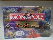 Monopoly Duel Masters Special Edition Game   NEW & Sealed