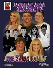 Martial Arts Showbiz TV the Zaino Family Comic Book : Great Martial Artist by...
