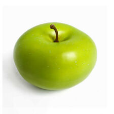 Artificiale verde Apple 8cm realistico life misura finto deridere frutta