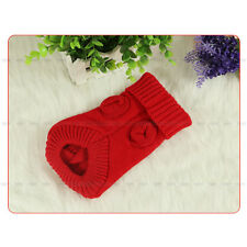 Popular Pet Dog Cat Knitted Jumper Sweater Puppy Warm Coat Jacket Winter Clothes