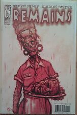 """""""Remains"""" complete unread Steve Niles limited zombie series by IDW Publishing"""