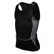 Mens Compression Body Baselayer Thermal Tank Tops Vest T-Shirt Tights Sportswear
