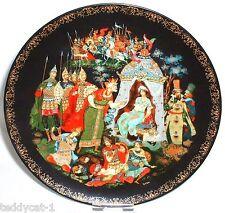 Russische Legenden ~  3. Bradex Sammelteller ~ Der goldene Hahn und Zar Dador