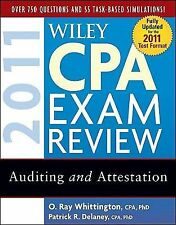 Wiley CPA Exam Review 2011, Auditing and Attestation (Wiley Cpa Examination Revi