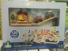 ELC Early Learning Centre Wooden City Train Set - New