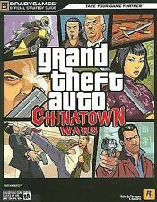 Grand Theft Auto: Chinatown Wars Official Stategy Guide (Official Stra-ExLibrary