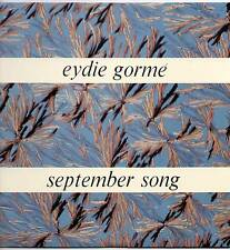 EYDIE GORME~SEPTEMBER SONG~1964 UK 12-TRACK MONO LP~WORLD RECORD CLUB T 340