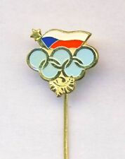 old CZECHOSLOVAKIA NOC pin BADGE Olympic Games CZECH