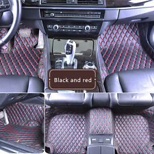 Car Floor Mats leather handmade Waterproof Mat For Ford Ford  Mustang