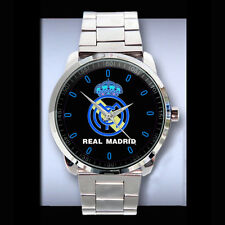 SPORT METAL WATCH REAL MADRID STEINLESS ANALOGUE NEW FASHION UNISEX RELOJ