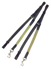 Kincade Leather/Elastic Side Reins,Black, One Size, Adjustable