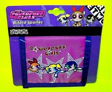 POWERPUFF GIRLS Bubbles Buttercup Blossom Bill Card Money Pouch Pink Blue WALLET