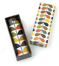 Orla Kiely by Fulton Designer Gift Box Microslim Umbrella Multi Stem