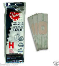 Genuine HOOVER Celebrity Vacuum Bag Style H  #4010009H  3 pack  NEW!