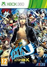Persona 4 Arena: Ultimax (Xbox 360) NEW & Sealed