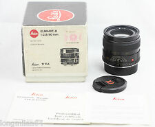 * EXC + * Leica Elmarit-R 90mm F2.8 1:2.8 / 90 ritardo E55 R6 R6.2 R8 R9 M240 DMR MP