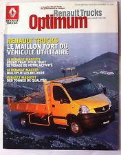 """Le Magazine Renault Trucks """"optimum"""" Véhicule Utilitaires"""