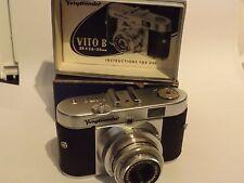 VINTAGE VOIGHTLANDER VITO B 35mm fotocamera, confezione originale e istruzioni