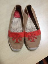 ausm AUTHENTIC TORY BURCH ESPADRILLE FLATS WESTON