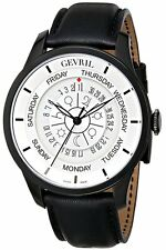 Gevril Men's 2005 Columbus Circle Automatic Black Astrological Symbols Watch