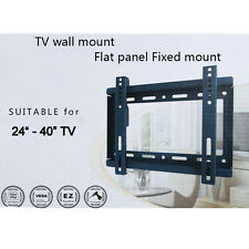 "Fixed Wall Mount Stand for LED LCD Plasma TV Universal Metal Bracket 24""- 40"" TV"