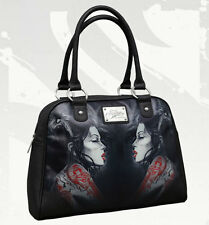 RED DRAGON Bowler Bag by SULLEN
