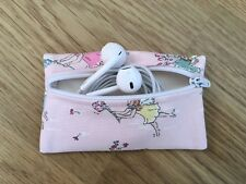 Handmade Earphone Earbud Case Pouch Made With Cath Kidston Garden Fairies Fabric