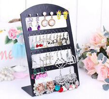 48Holes Earrings Show Plastic Display Rack Stand Jewelry Organizer Holder Tools