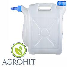 Wasserkanister Behälter Wassertank mit Deckel und Hahn Camping Deckel